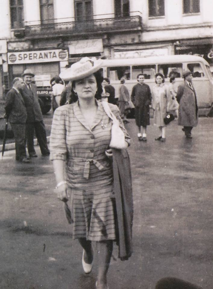 Ioana Radu în oraș