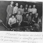 Ion Pițigoi, primul din stânga, jos. Sursa foto-dosar  130, fond urmărire penală, arhiva C.N.S.A.S.