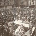 Maria Tanase – înmormântare