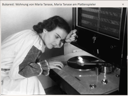 Maria Tanase pick-up