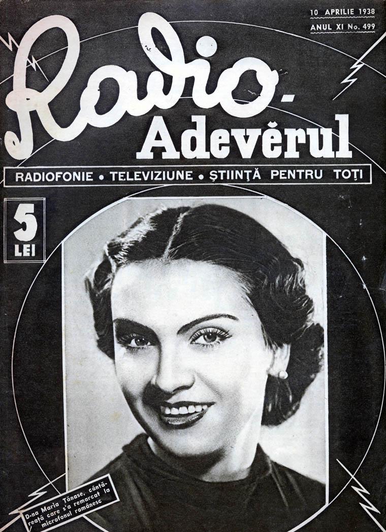 Maria Tanase radio