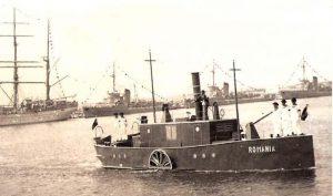 """Nava """"România"""", reconstituită cu ocazia Zilei Marinei (imagine din portul Constanța)"""