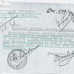 Raspuns al Penitenciarului Timisoara (23 octombrie 1951),   referitor la soarta unui detinut.