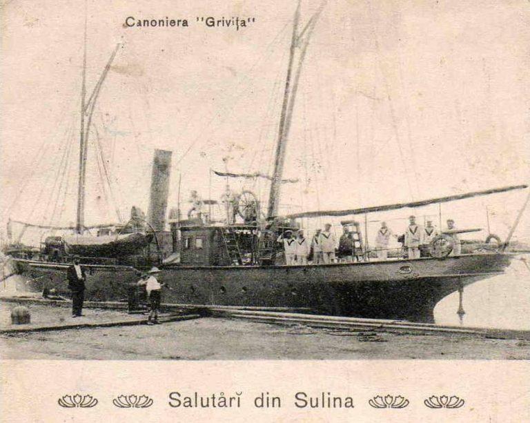 """Canoniera """"Griviţa"""" – prima navă maritimă de război a României"""