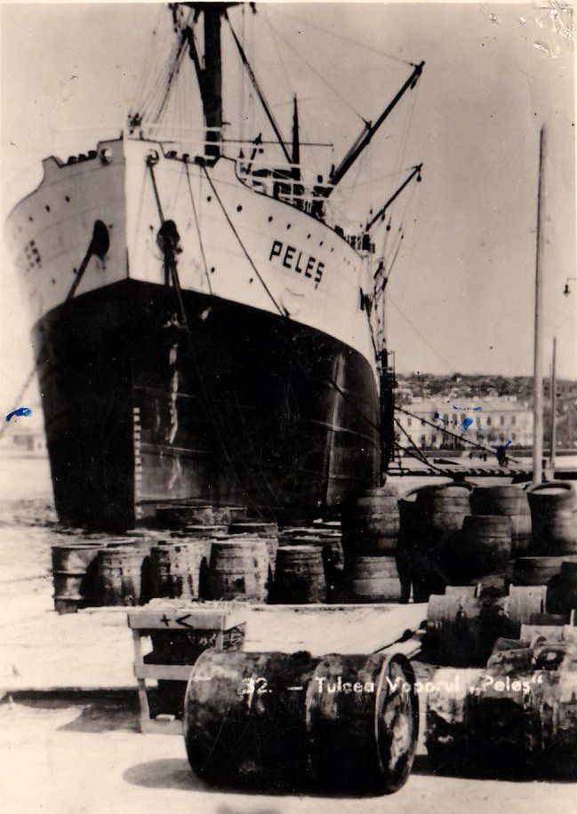 """Coliziunea navei """"Peleş"""" cu cuirasatul """"Warspite"""""""