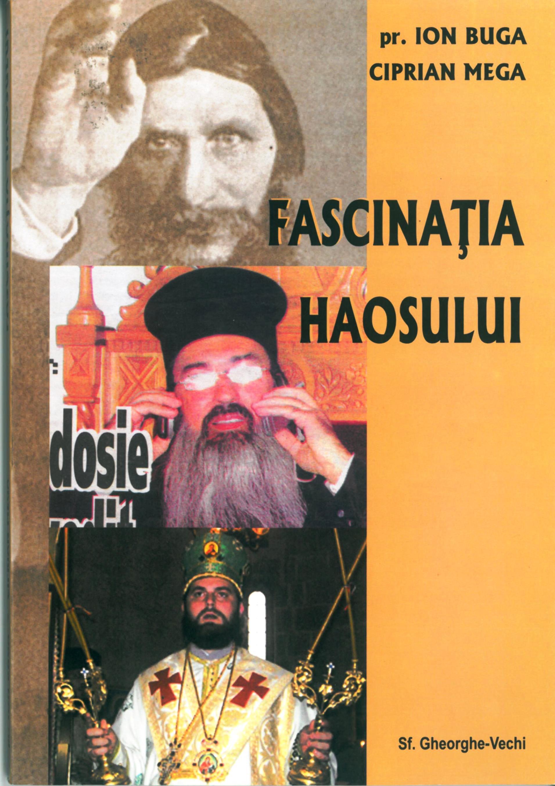"""Coperta cărții """"Fascinația haosului"""""""