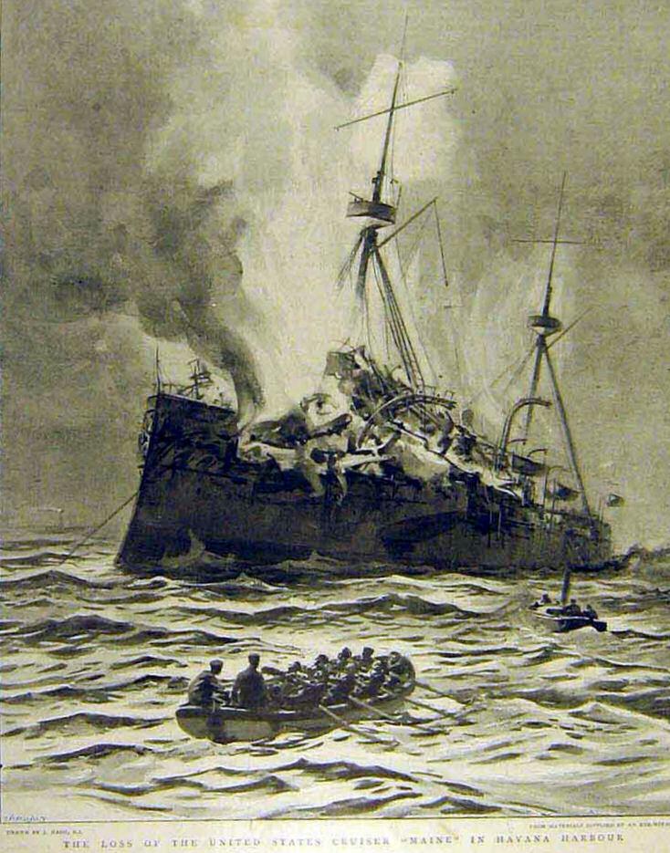 """Constantin Todoresco, marinarul român care a decedat în explozia cuirasatului USS """"Maine"""""""