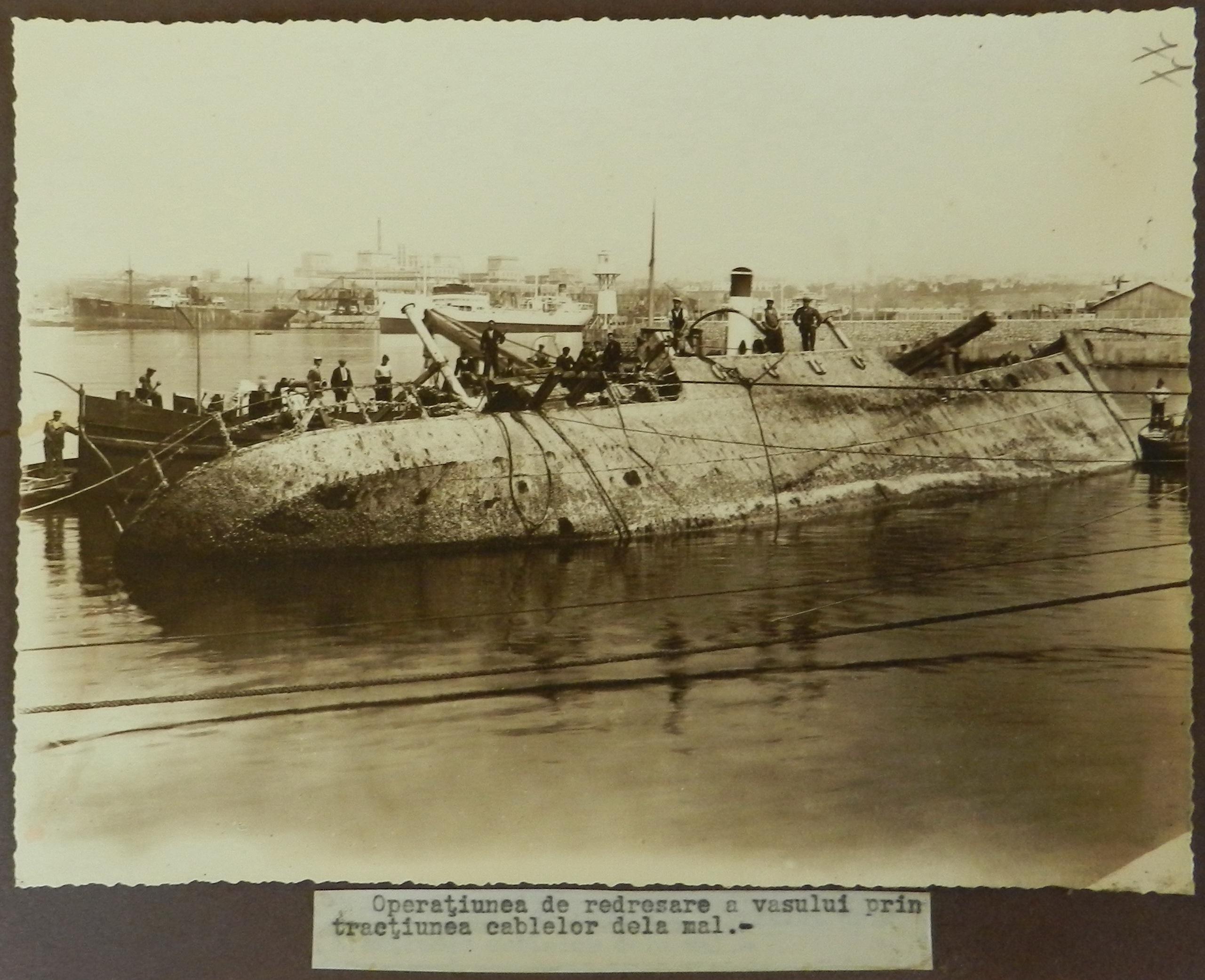 Nava Kima s-a scufundat la data de 24 aprilie 1922, după un puternic incendiu la bord. A fost ranfluată în anul 1930.
