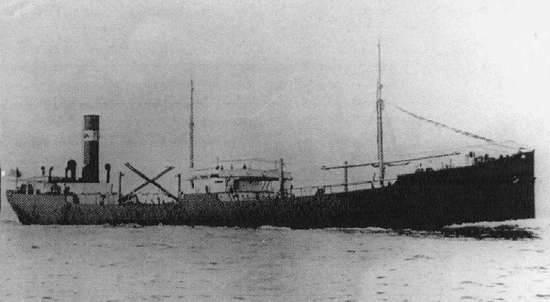 Nava SANTONI esuata la Constanta pe 5 martie 1934