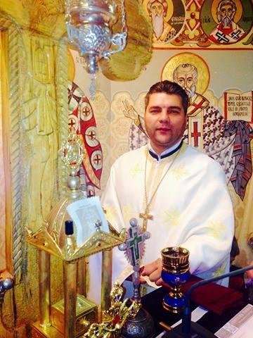 Preotul George Ciulei, înainte de a fi suspendat abuziv și batjocoritor de ÎPS Teodosie