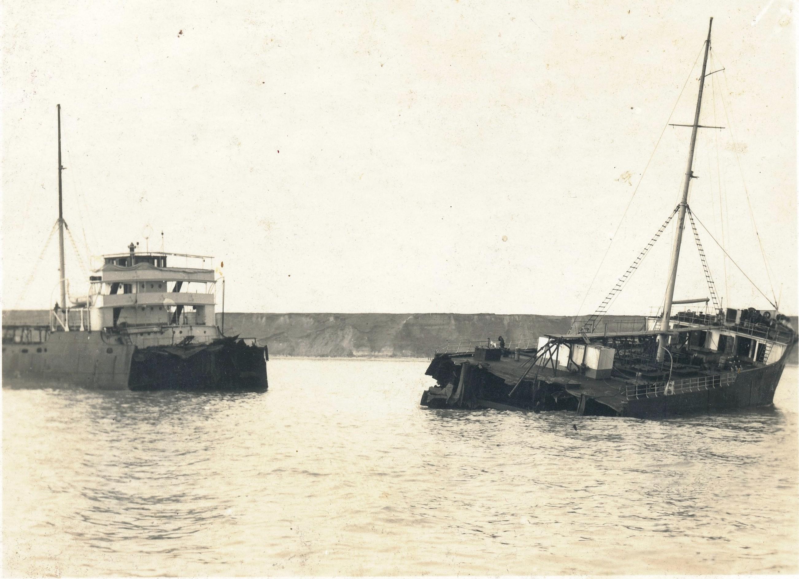 """Pterolierul """"Santoni"""", după tragedie. Dintre cei 25 de membri ai echipajul, 11 marinari s-au înecat,"""