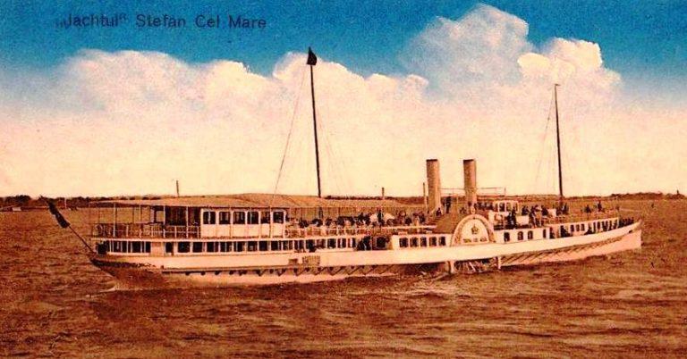 """Yachtul regal """"Ştefan cel Mare"""" – cea mai elegantă navă de pe Dunăre, cea mai rapidă navă cu zbaturi din lume"""