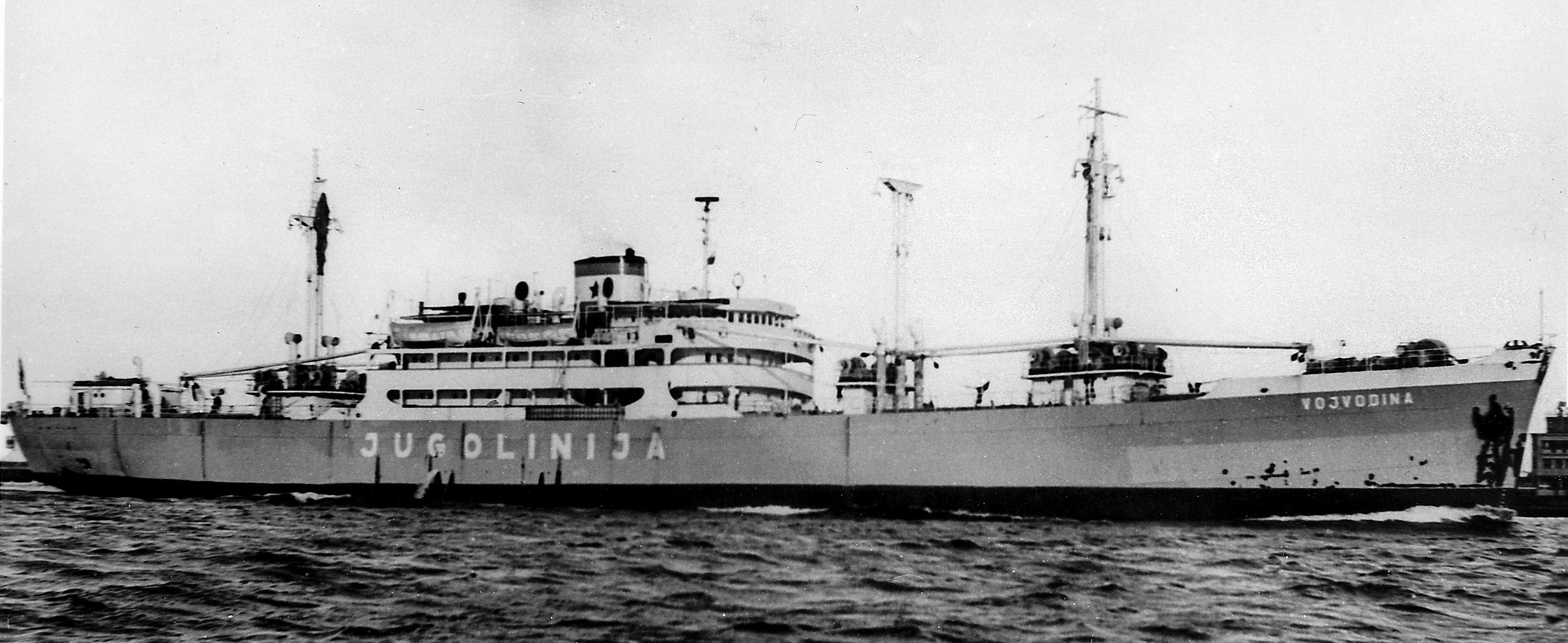 """Scufundată în septembrie 1943, nava mixtă """"Balcic"""" a fost ranfluată în aprilie 1947."""