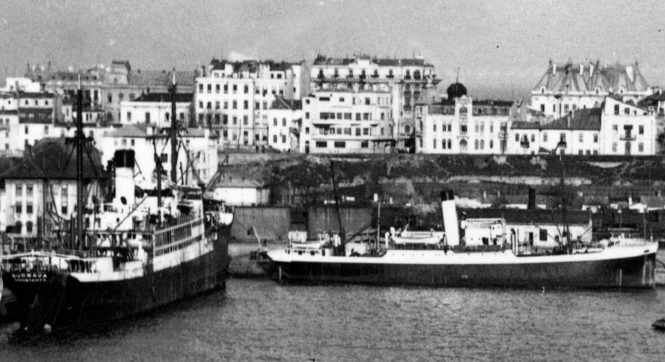 """Cargoul """"Suceava"""", ex-""""Albert Vögler"""", a transportat 61 de lăzi cu aur în greutate de 2.403 kg."""