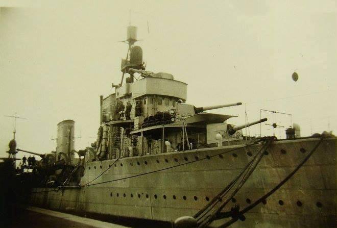 """Distrugătorul """"Regele Ferdinand"""" în anul 1941."""