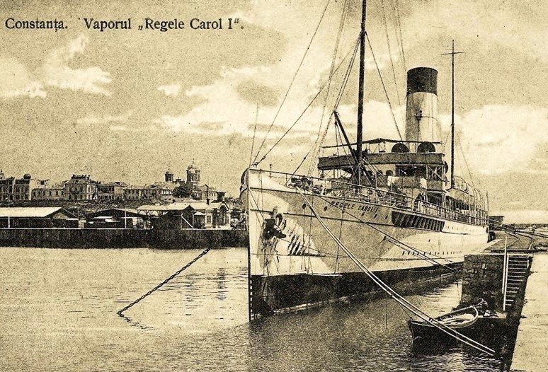 Nava de pasageri REGELE CAROL I in portul Constanta
