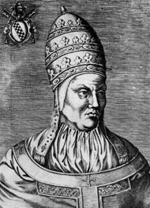 Papa Bonifaciu al IX-lea.