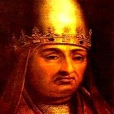 Papa Bonifaciu al VIII-lea.