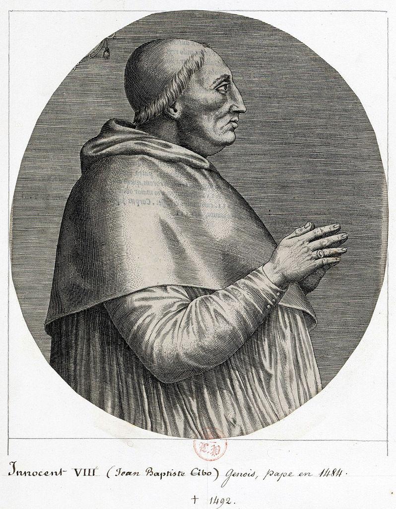 Papa Inocenţiu al VIII-lea.