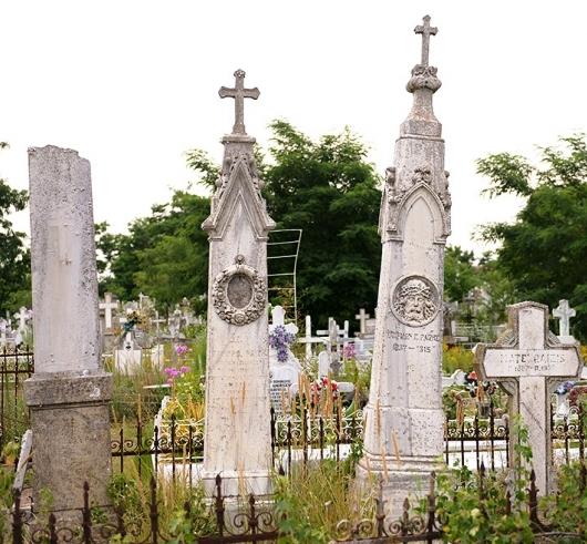 """Un cimitir unic în lume: """"cimitirul viu"""" din Sulina"""