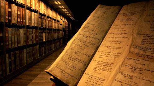 Arhivele secrete ale Vaticanului.