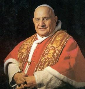 Papa Ioan al XXIII-lea (Angelo Giuseppe Roncalli, 1881-1963).