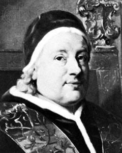 Papa Clement al XIII-lea.