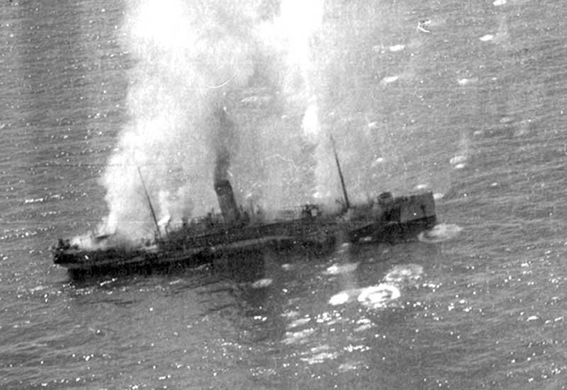 În ziua de 10 mai 1944, în apele Mării Negre a avut loc un adevărat măcel.