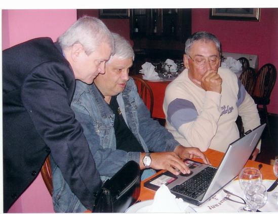Eugen Ungureanu, Dumitru Lupu și Horia Moculescu.