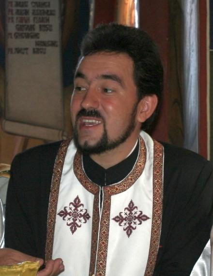 Preotul Rusu Florin Grigore.