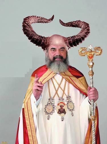 Patriarhul Daniel Ciobotea, vândut Satanei.