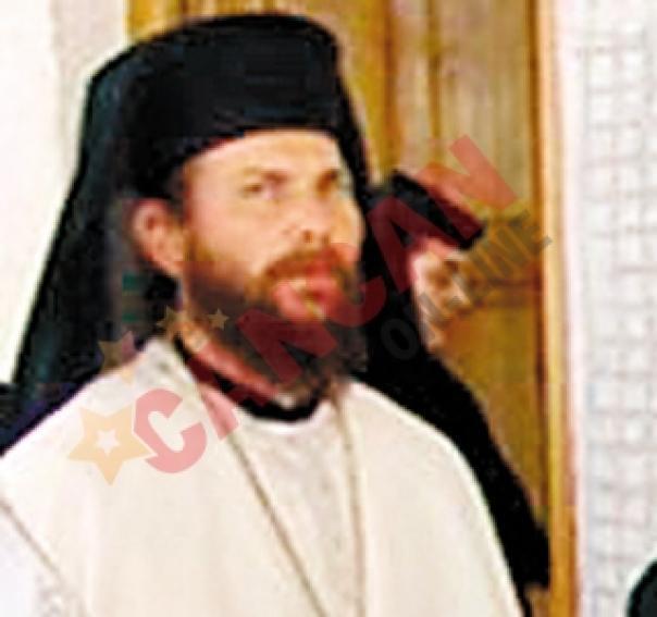 Teotim Popa, starețul mănăstirii din Murfatlar.