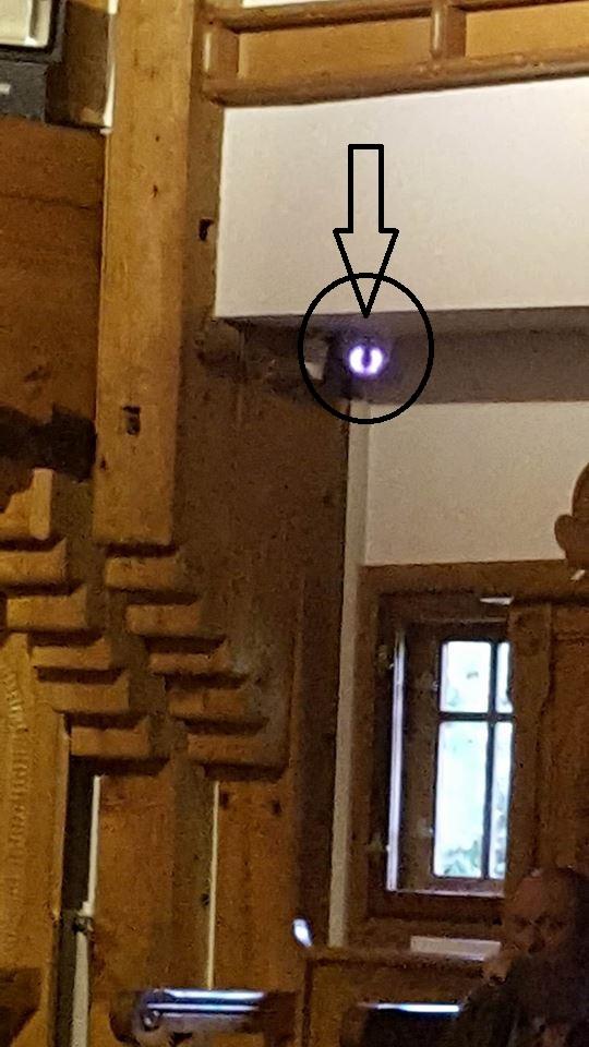 Ochiul și timpanele lui Banu (biserica Sf. Mina).