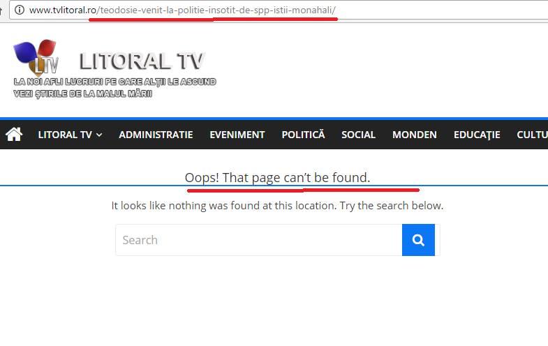 Oops! Pagina respectivă nu poate fi găsită.
