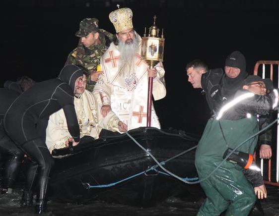 """Un exemplu al """"colaborării îndelungate pe tărâm cultural dintre Marina militară și Arhiepiscopia Tomisului!"""