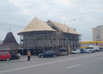 "Biserica ""Sf. Haralambie"" (zona stații OMV - Petrom, Tomis Nord)."