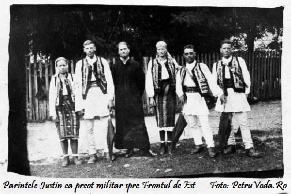 O explicație mincinoasă la o fotografie cu Părintele Justin Pârvu.