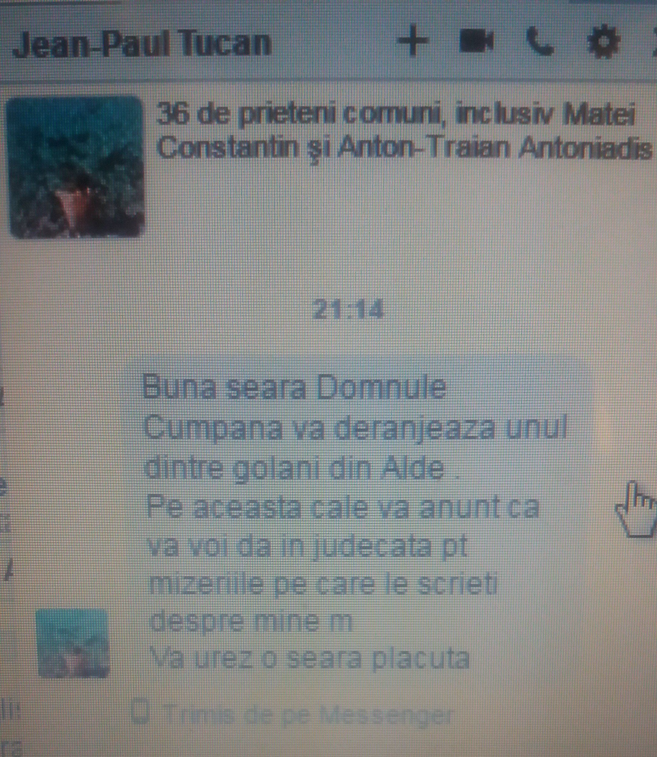 Priviți cum scrie acest agramat, fost director al Regionalei de Drumuri București, în prezent vicepreședinte al ALDE (național).cam câte clase