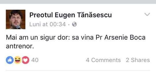 Atât îl duce mintea pe Tănăsescu!...