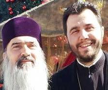 Teodosie si Iulian Dumitru - dirijor cor ARMONIA