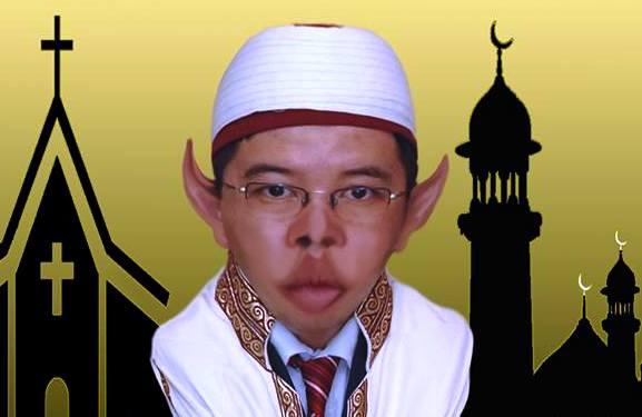Această creatură nu este muftiul Iusuf Murat!