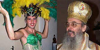 """Mitropolitul Serafim Joantă și relația sa cu homosexualul Florin Cojocaru zis """"Emanuela sugativa"""""""