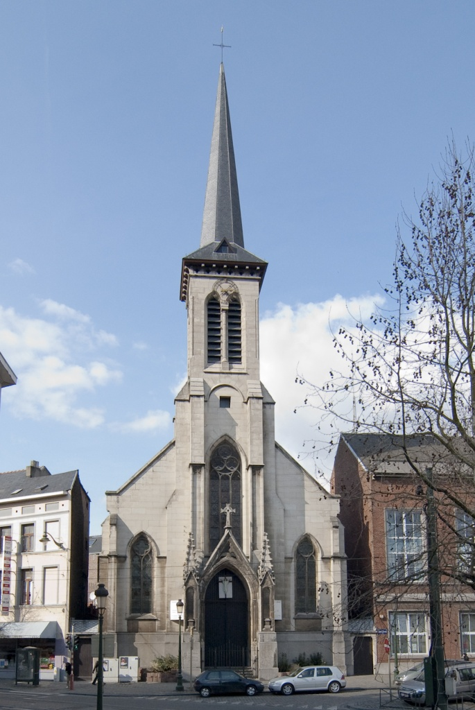 "Biserica ortodoxă ""Buna Vestire"" din Bruxelles."