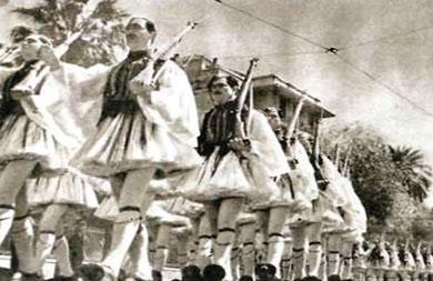 În dimineata zilei de 28 octombrie 1940 s-a anunțat mobilizarea generală și unitățile militare se îndreptau spre front.