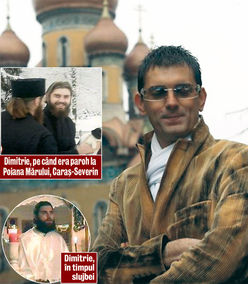 Preotul-călugăr Dimitrie Bica.
