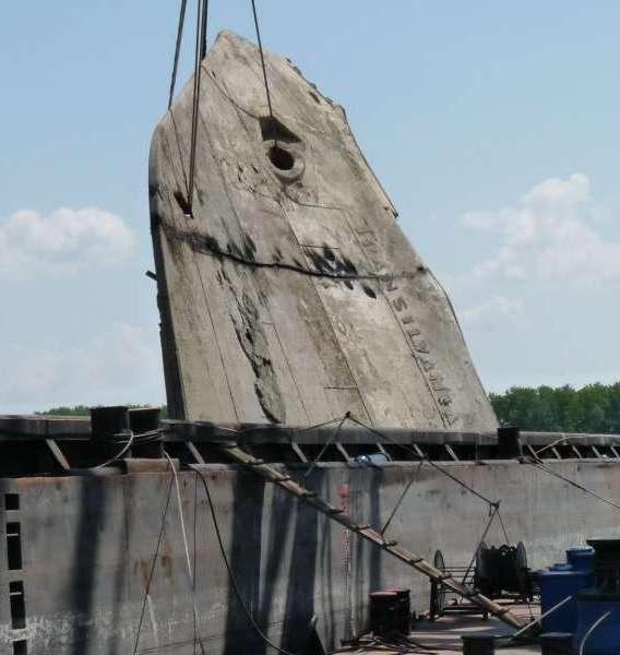 Poate ar fi fost mai bine ca prova navei TRANSILVANIA să fi fost așezată într-un parc sau pe faleza Dunării din Galați, în amintirea unei nave legendare, dar autoritățile au preferat să o valorifice la fier vechi!