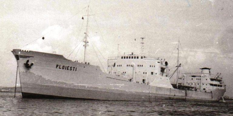 """Petrolierul """"Ploieşti"""" s-a scufundat în strâmtoarea Messina!"""