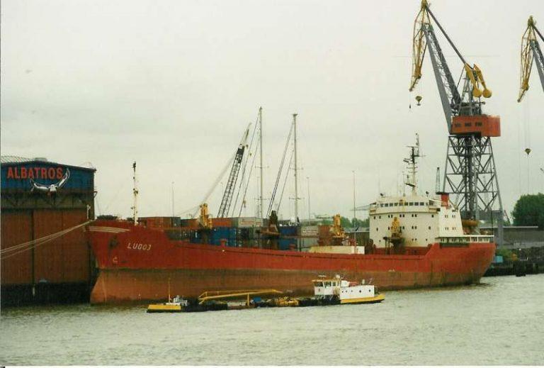"""Cargoul """"Lugoj"""" s-a scufundat în Marea Nordului"""