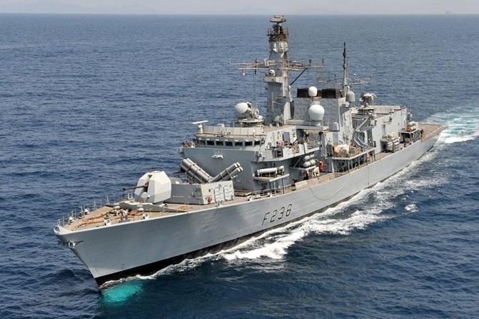 "Fregata F 238 ""Northumberland"" ."