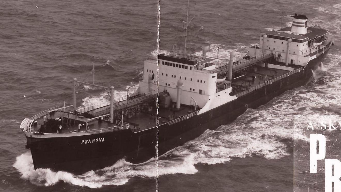 Petrolierul PRAHOVA, ex-PACE, construita in 1964 in Suedia